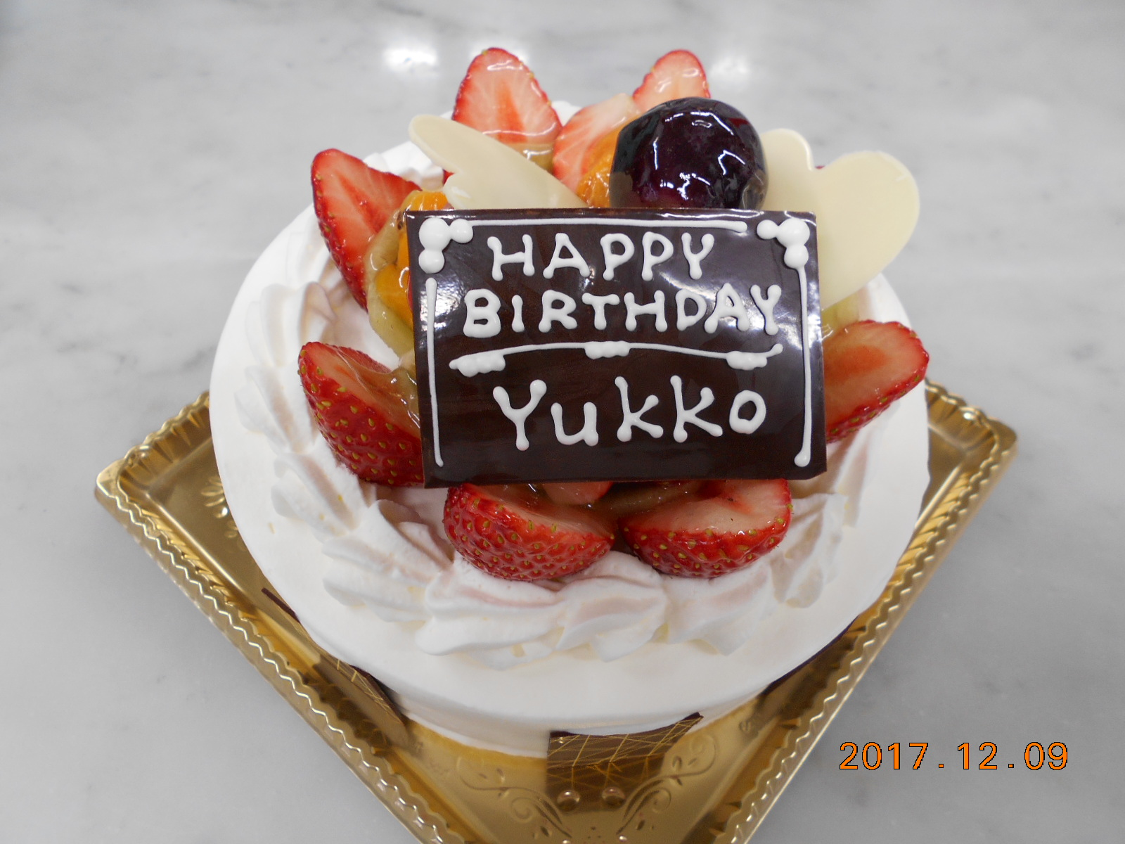 HAPPY BIRTHDAY  YUKKKO