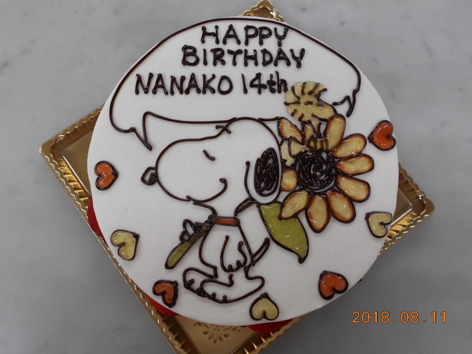 HAPPY BIRTHDAY NANAKO 14th