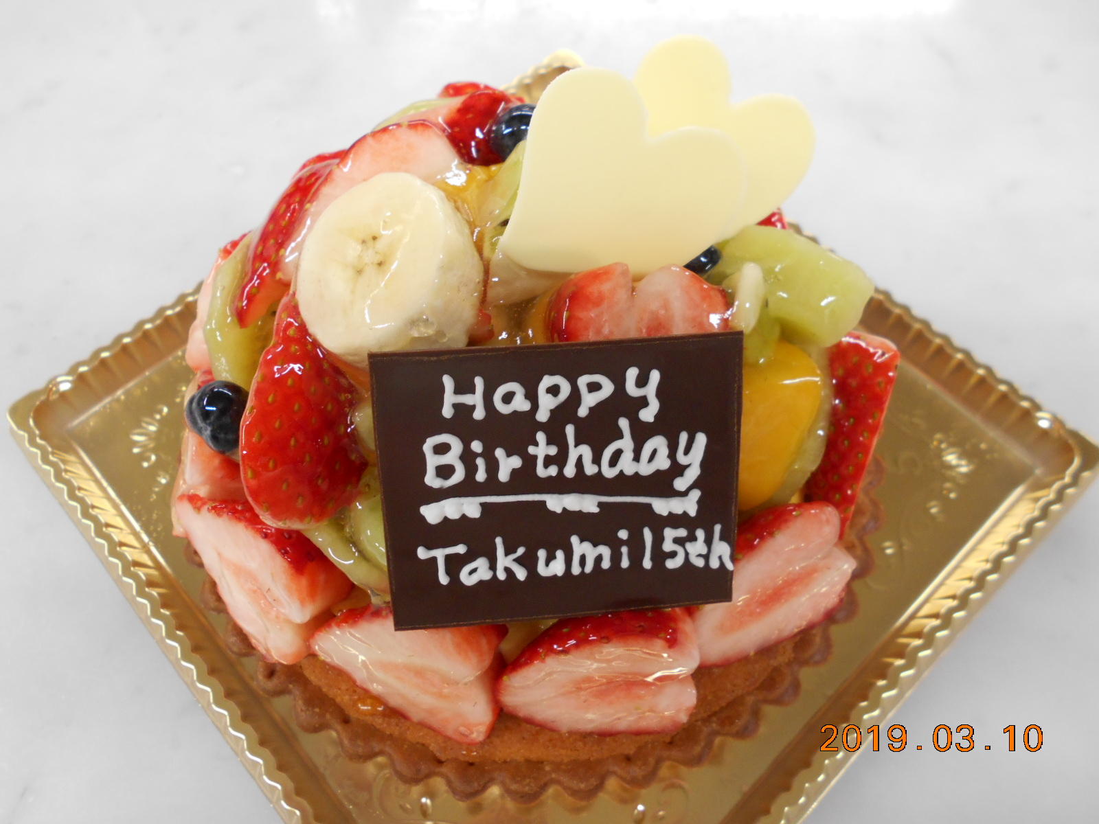 HappyBirthday takumi 15th